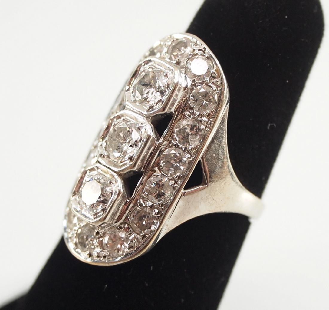 14kt Gold & Diamond Ring - 2