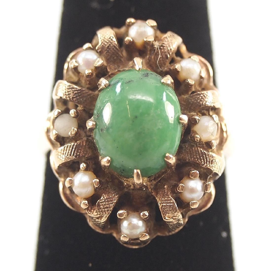 3 Vintage Gold Rings - 2