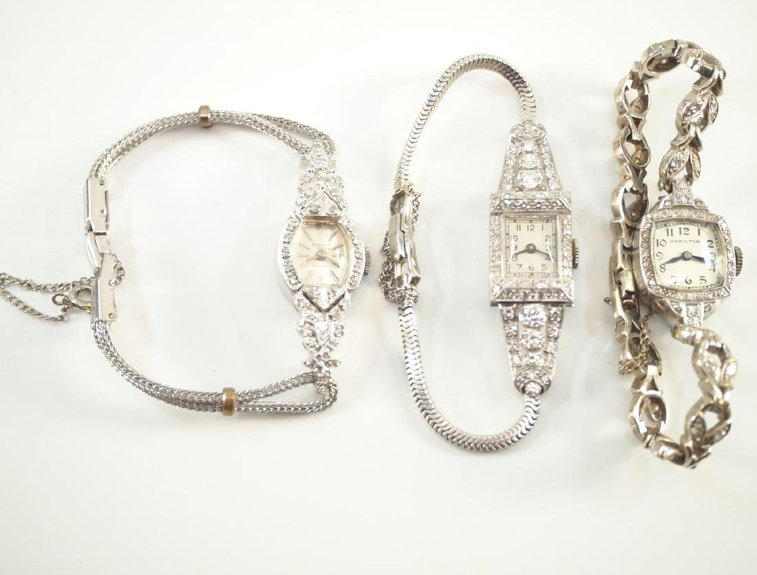 3 Vintage Ladies Wrist Watches.