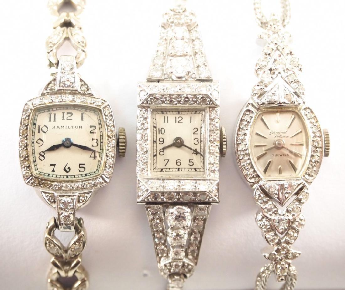 3 Vintage Ladies Wrist Watches. - 2