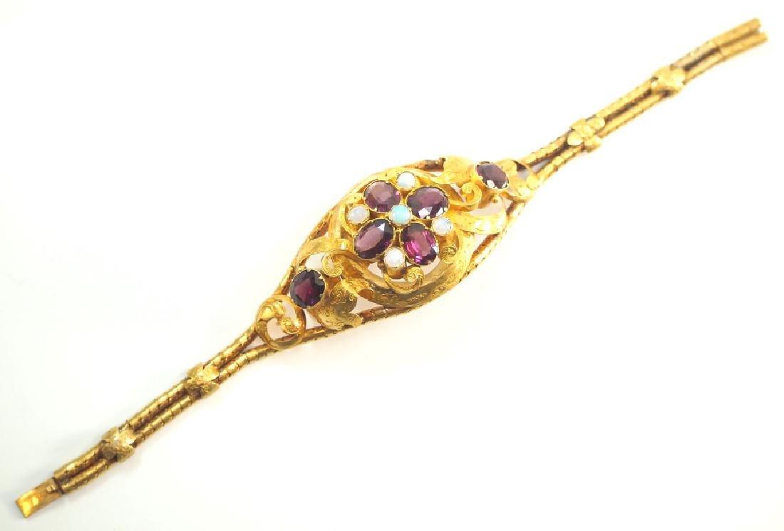 Victorian 22 kt Gold Bracelet