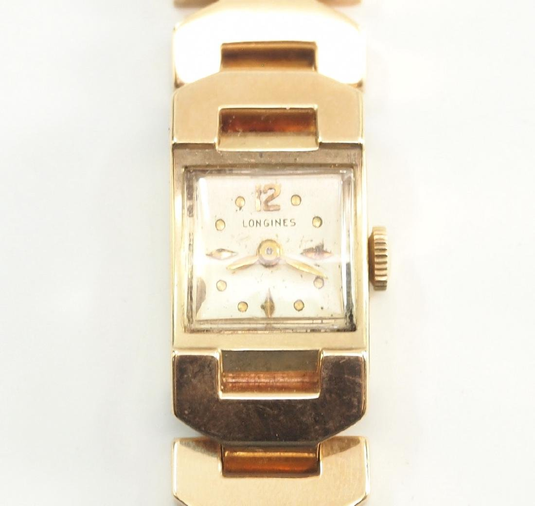 Longines Gold Ladies Wrist Watch - 2