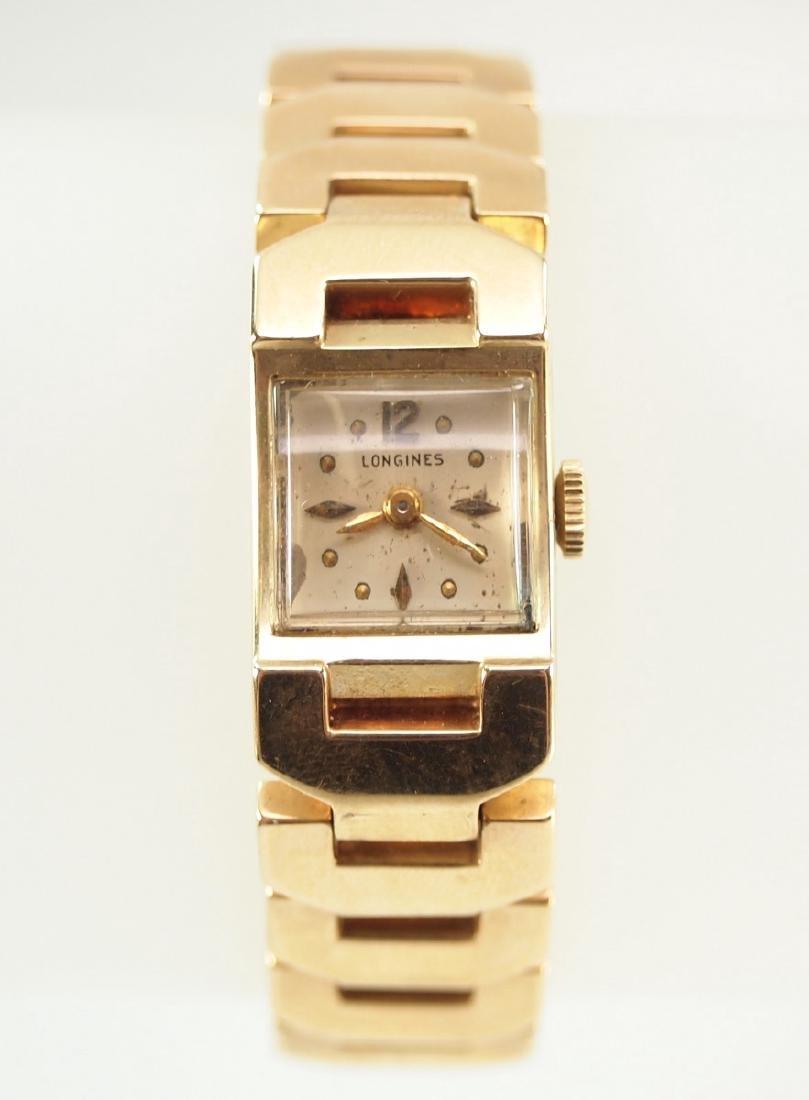 Longines Gold Ladies Wrist Watch - 3