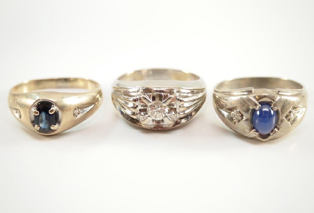 3 Gentleman's Rings