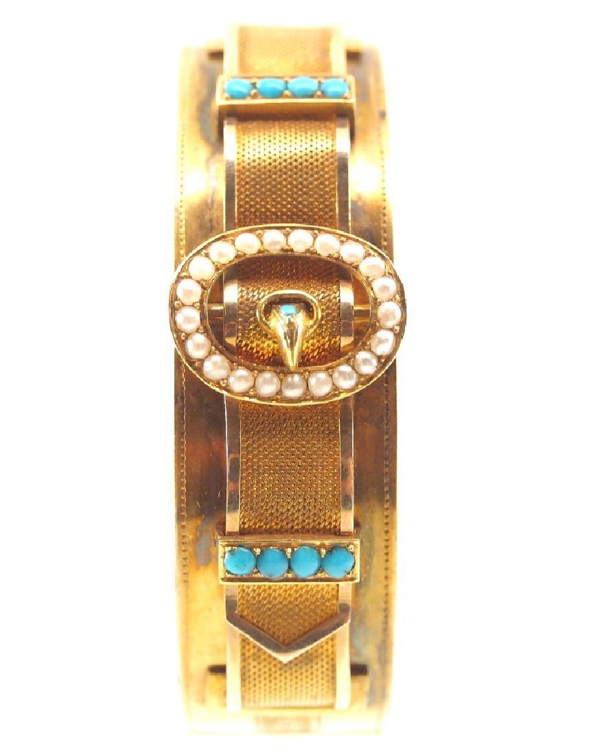 Victorian 20 kt Gold Bracelet