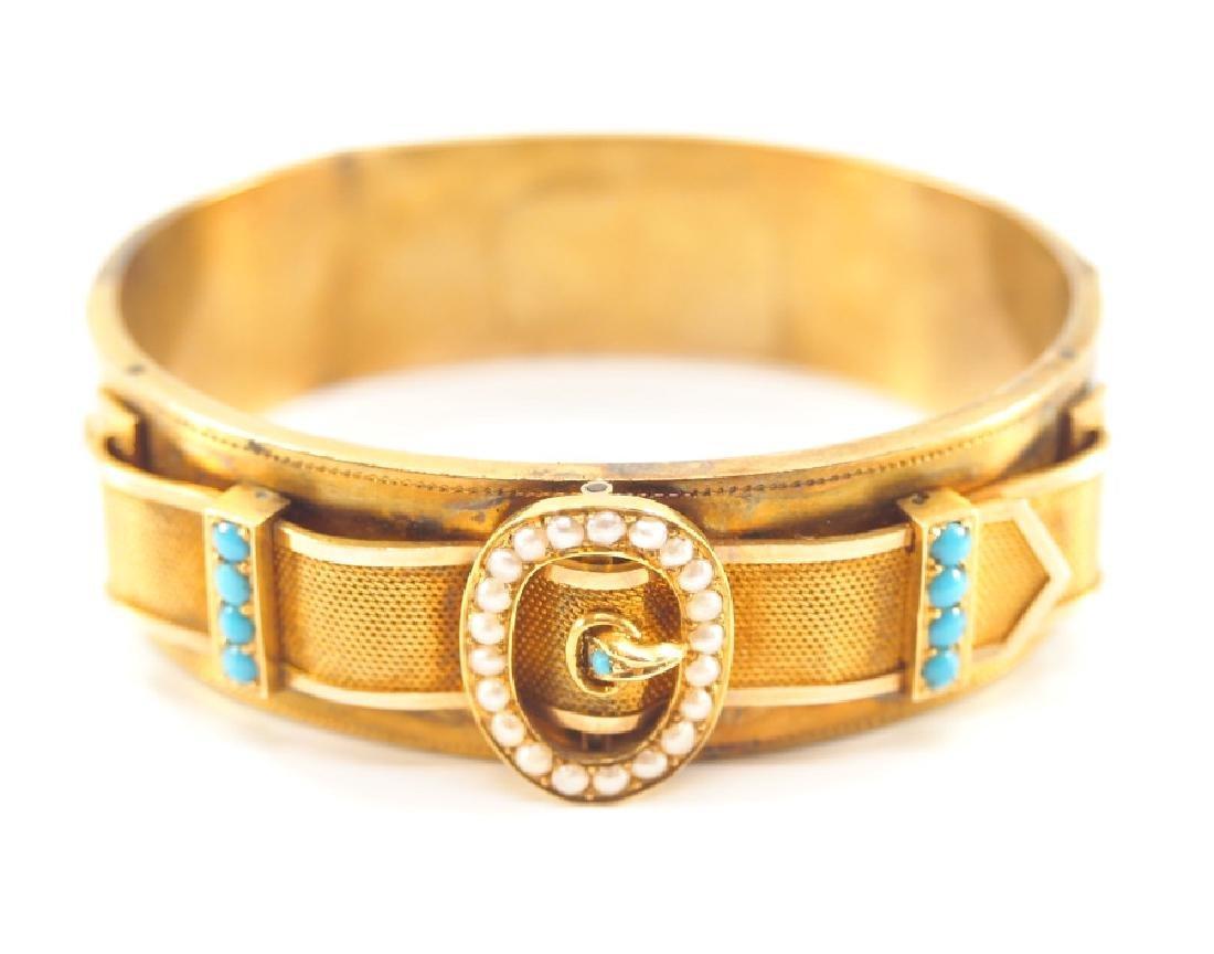 Victorian 20 kt Gold Bracelet - 2