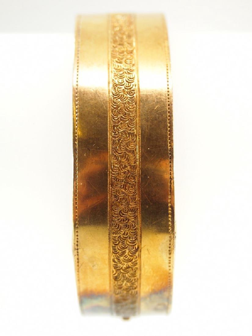 Victorian 20 kt Gold Bracelet - 3