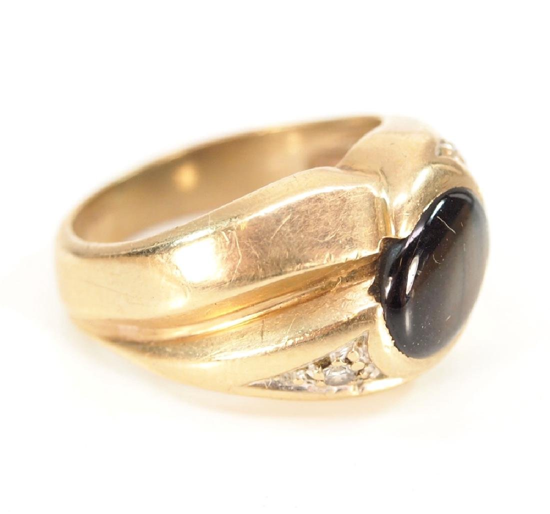 14 kt Yellow Gold & Tiger's Eye ring