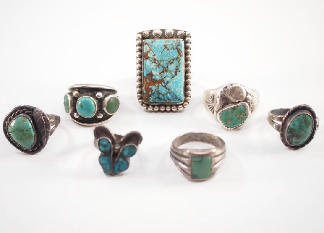 7 Navajo Rings