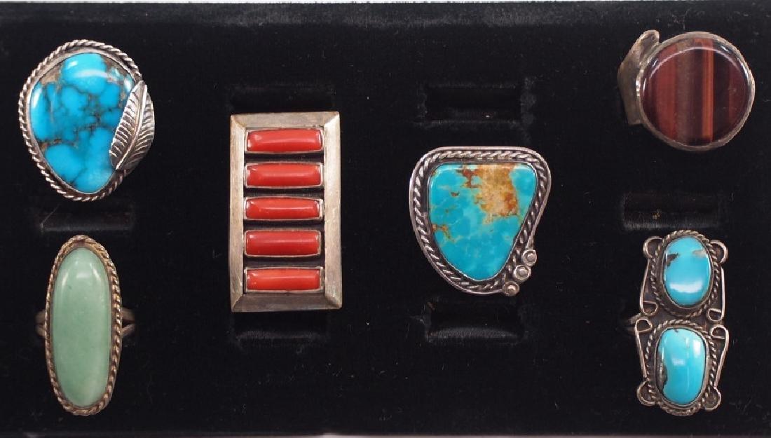 6 SW American Rings
