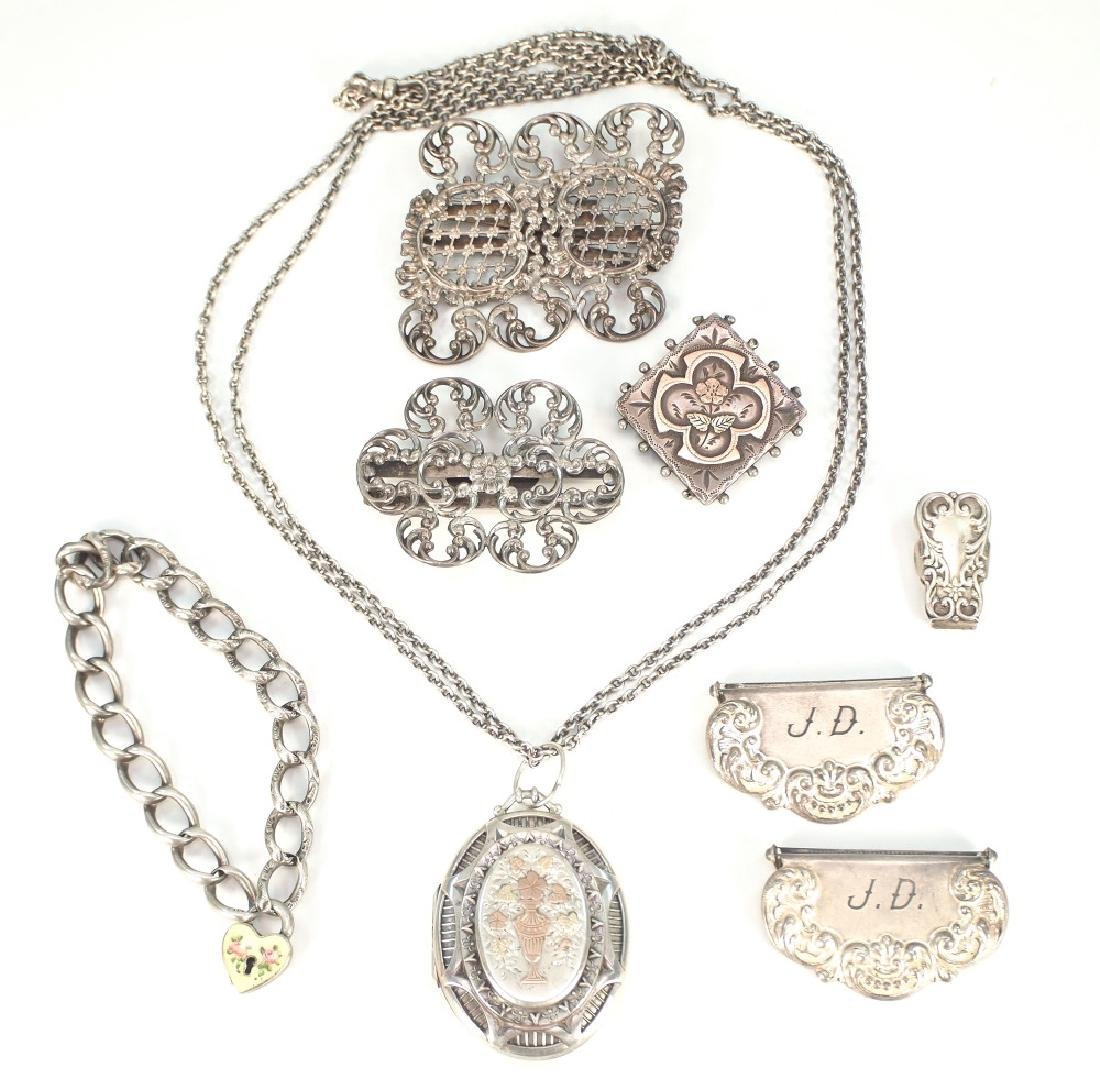 8 pcs of Sterling jewelry