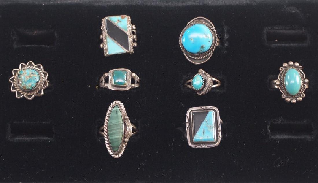 8 SW Silver Rings