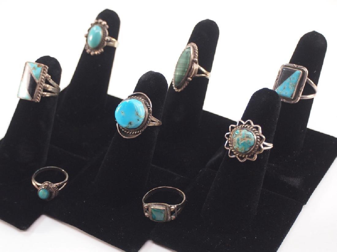 8 SW Silver Rings - 2