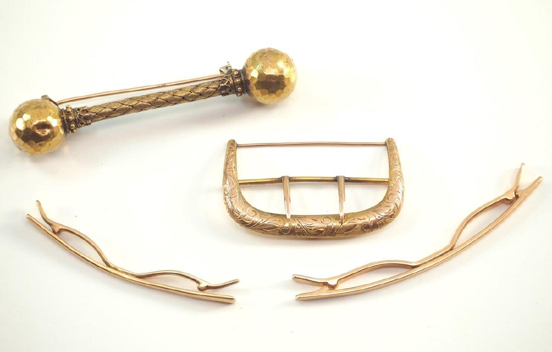 4 Yellow Gold Accessories