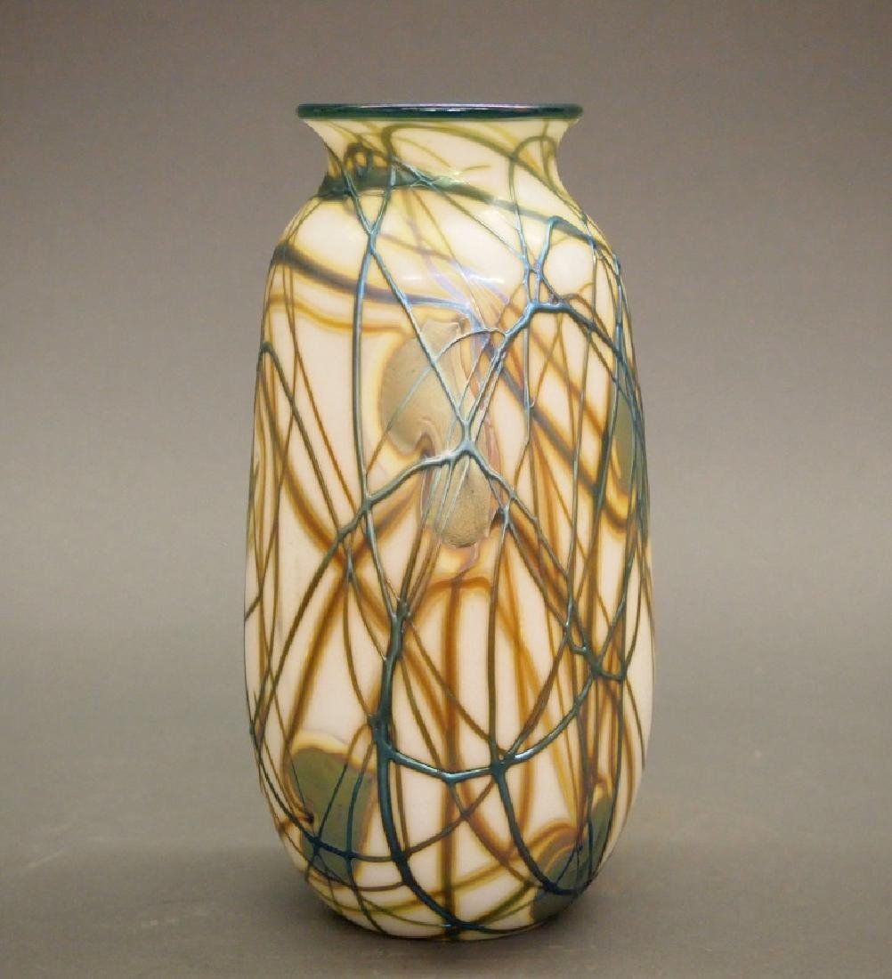 Charles Lotton Studio glass vase