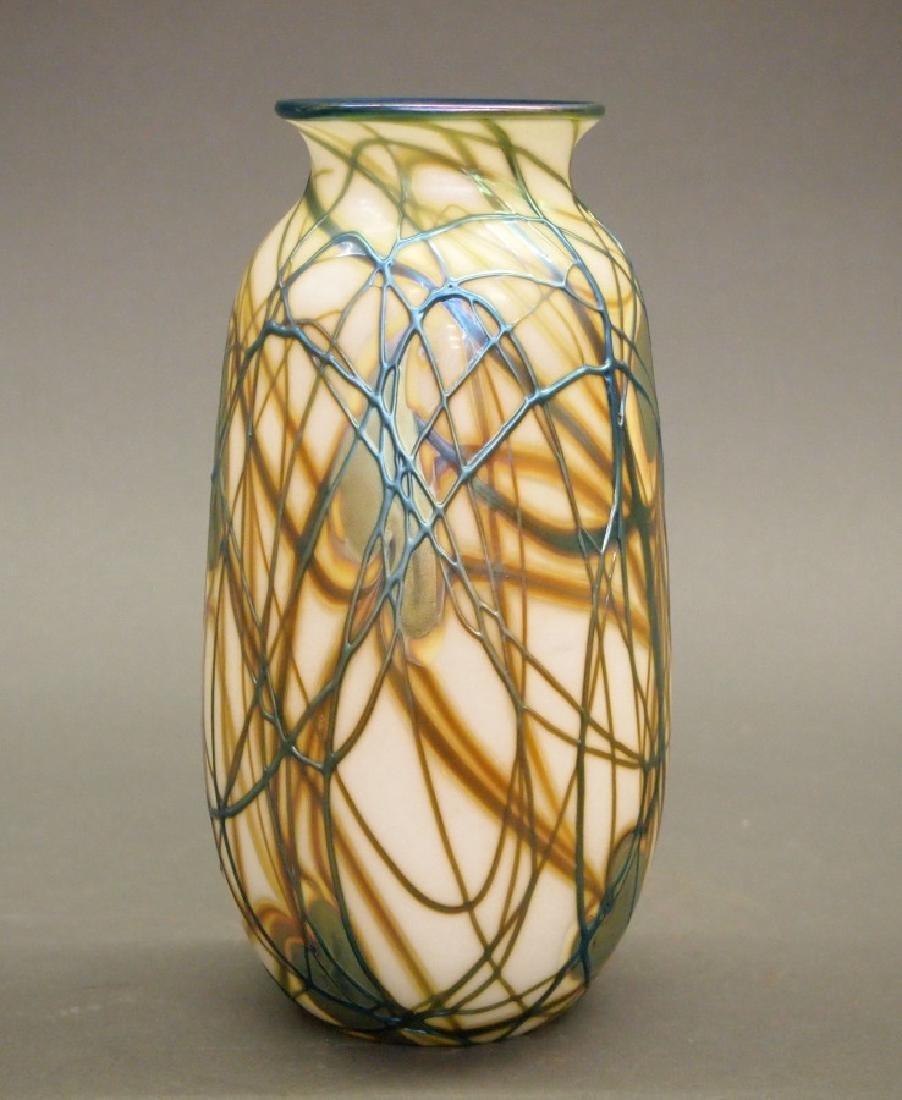Charles Lotton Studio glass vase - 2