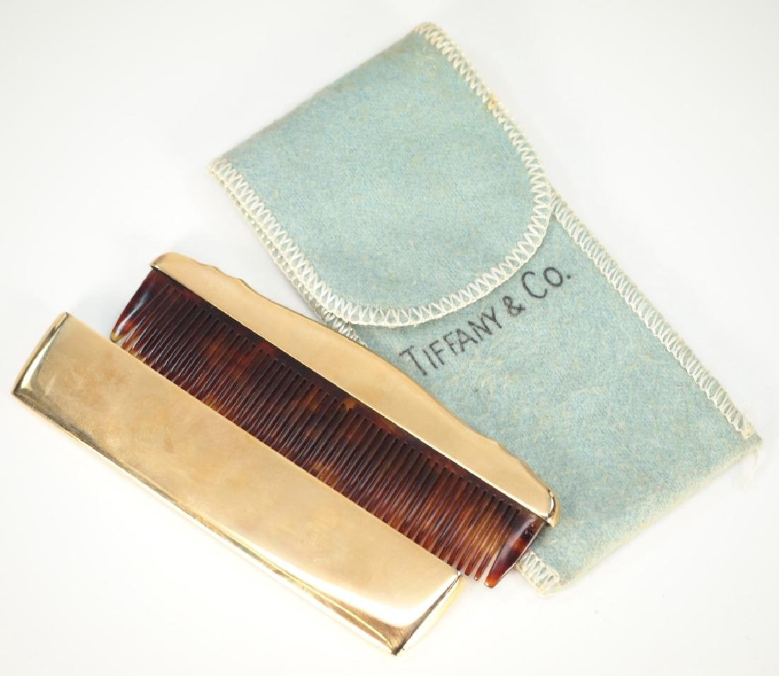 Thomae Co. Vermeil Comb