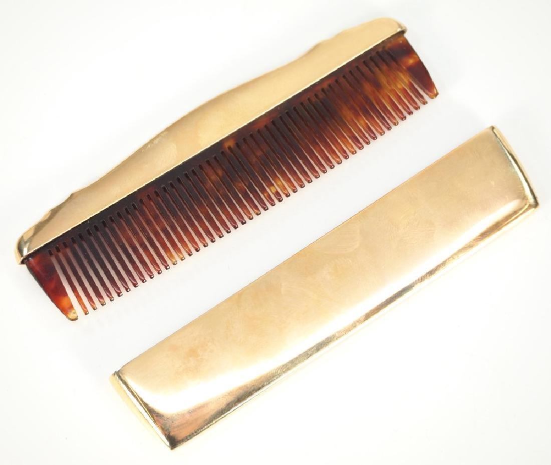 14 k Gold Thomae Co. Comb - 2
