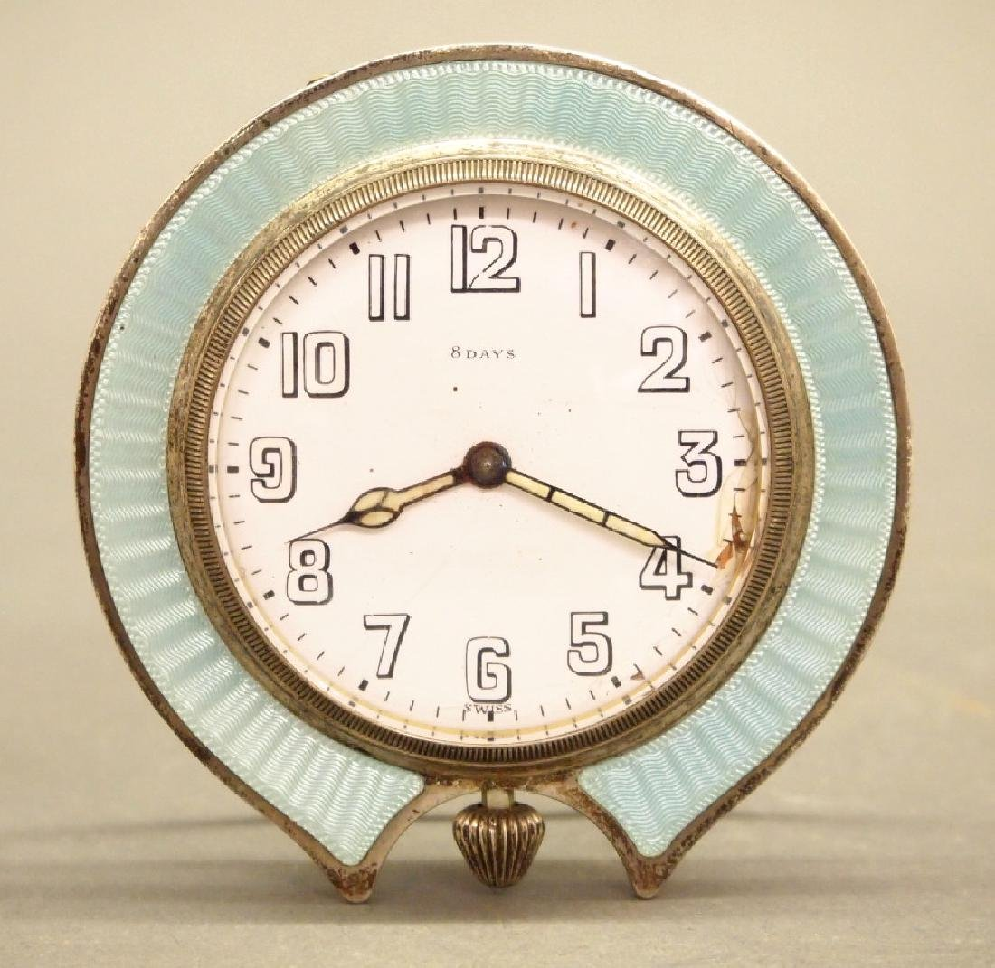 Tiffany & Co. travel clock