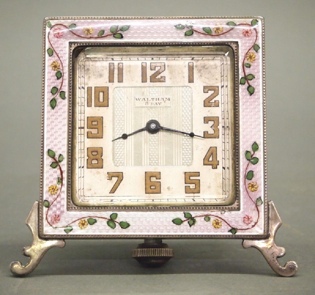 Waltham travel clock