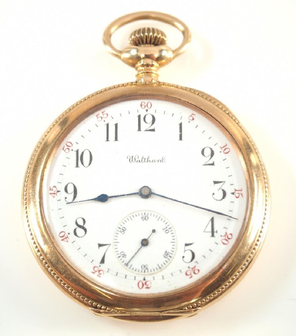 AWW Co. Riverside Maximus 14 k Gold pocket watch
