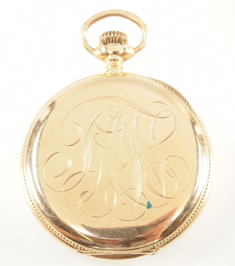 AWW Co. Riverside Maximus 14 k Gold pocket watch - 3