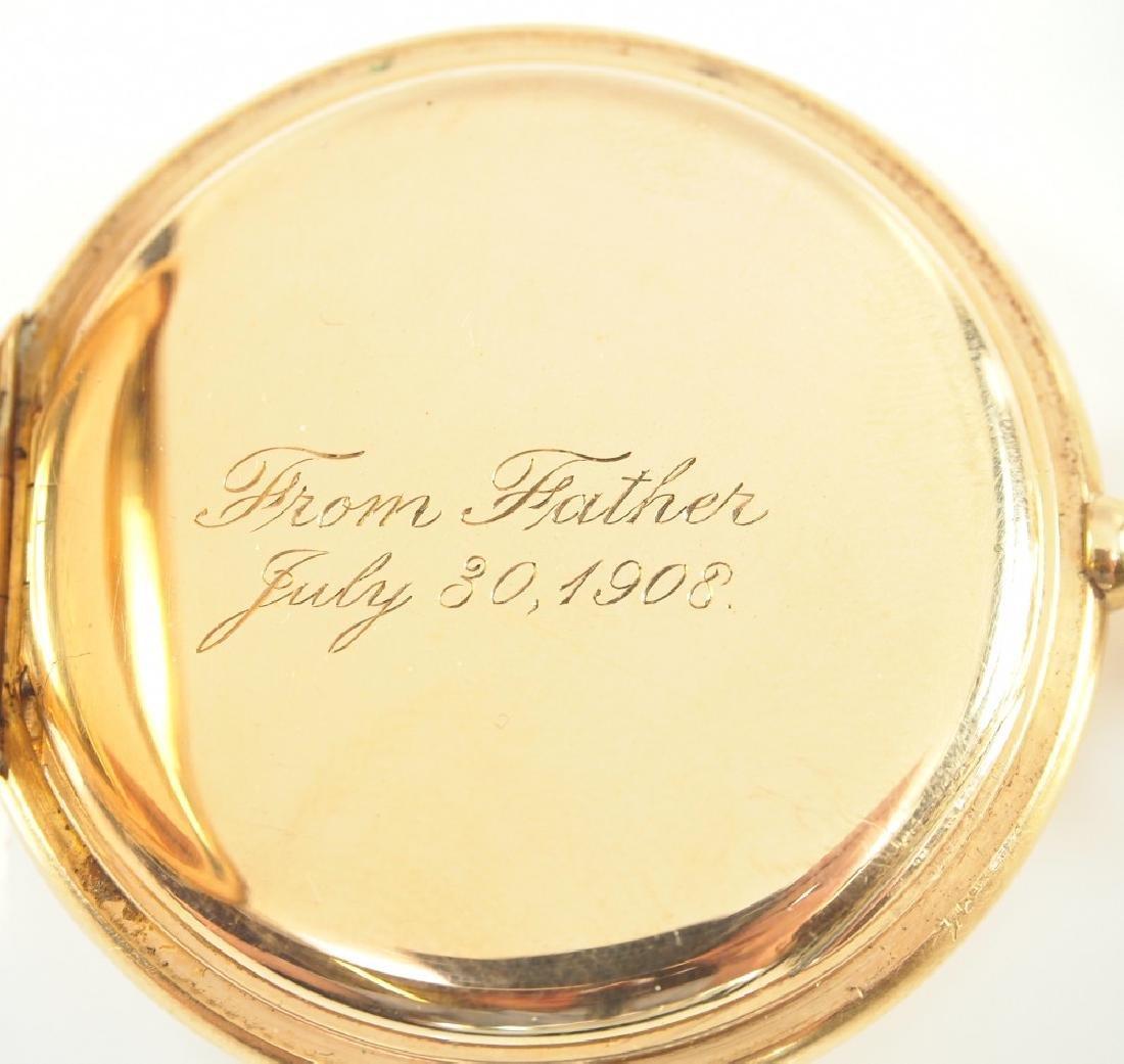 AWW Co. Riverside Maximus 14 k Gold pocket watch - 5