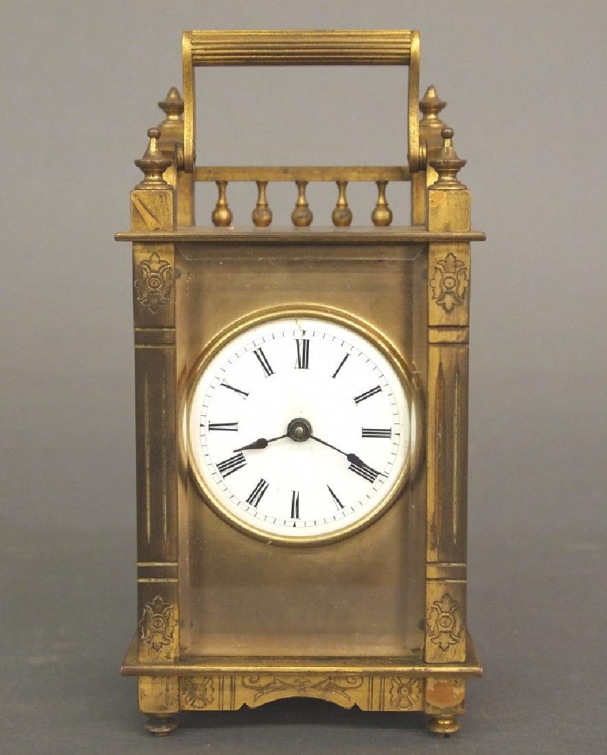 "Boston Clock Co. ""Queen Anne"" Carriage clock"