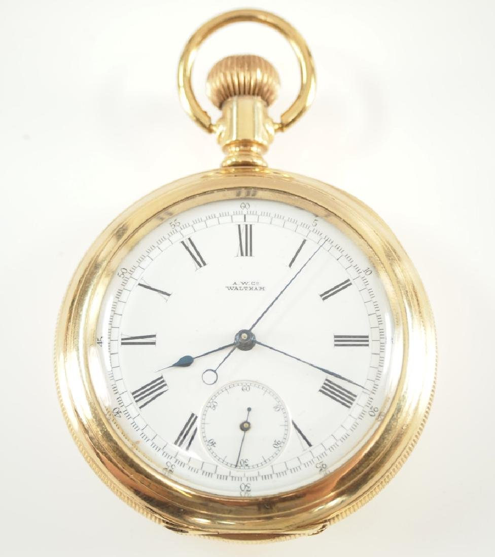 AWW Co. Chronograph pocket watch