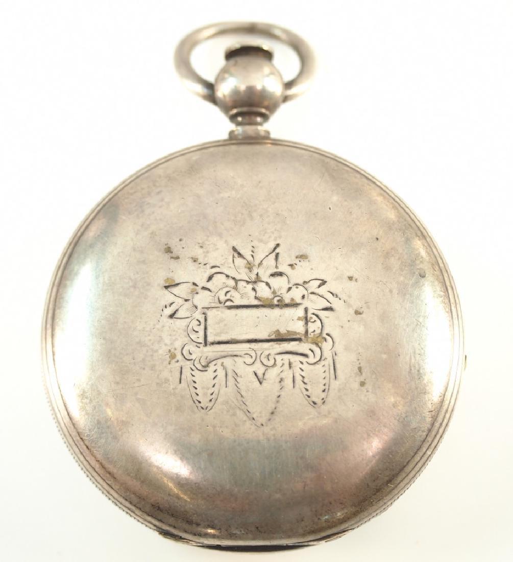 Early E. Howard Boston pocket watch