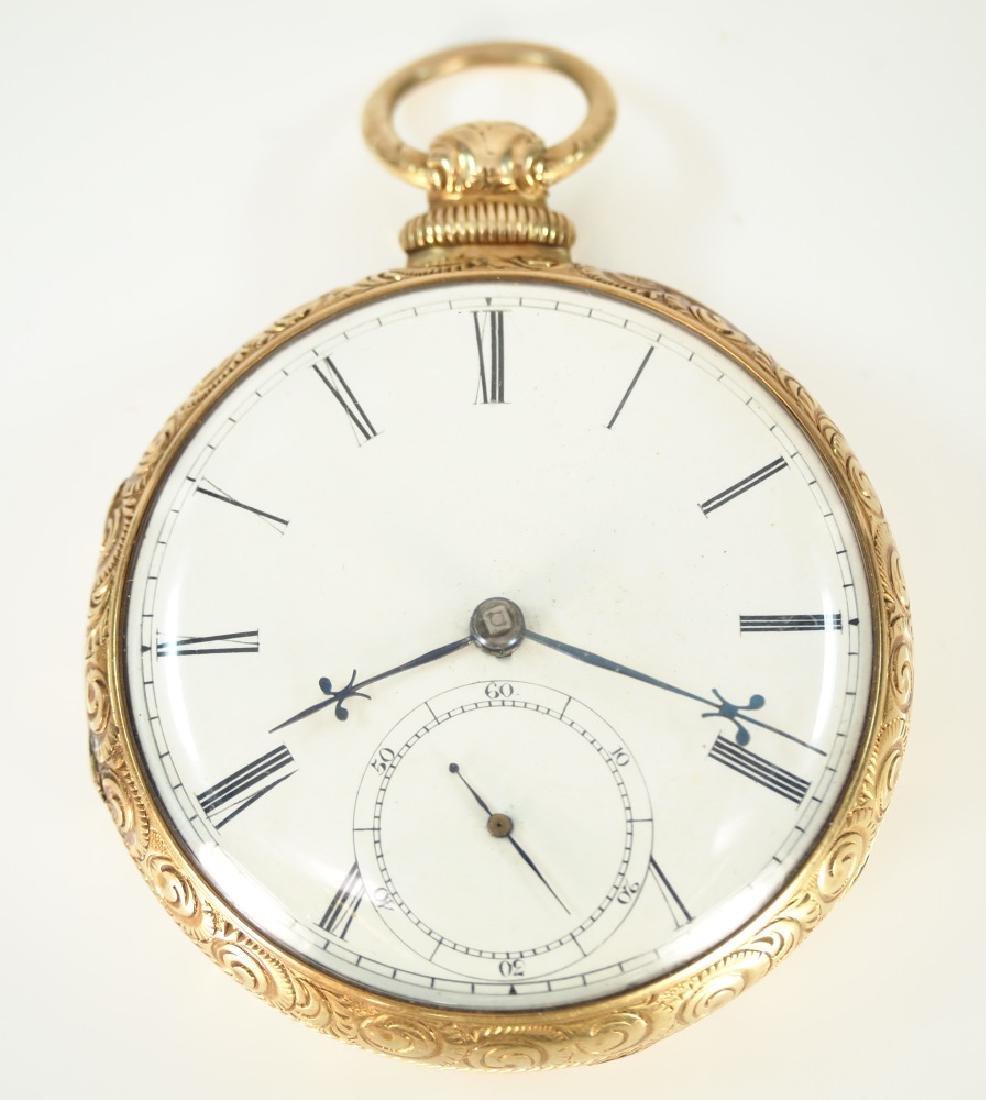 W. Robinson 14k Gold pocket watch