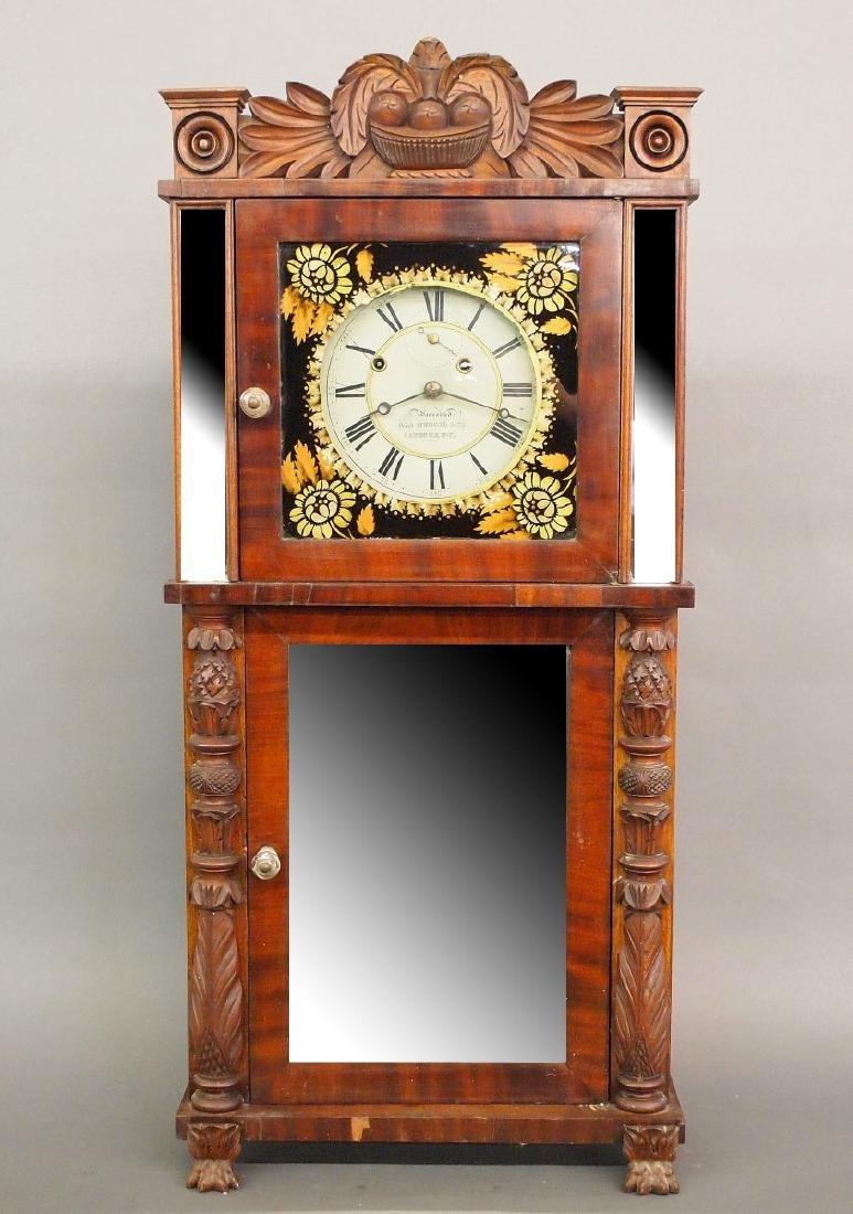 Asa Munger Empire shelf clock