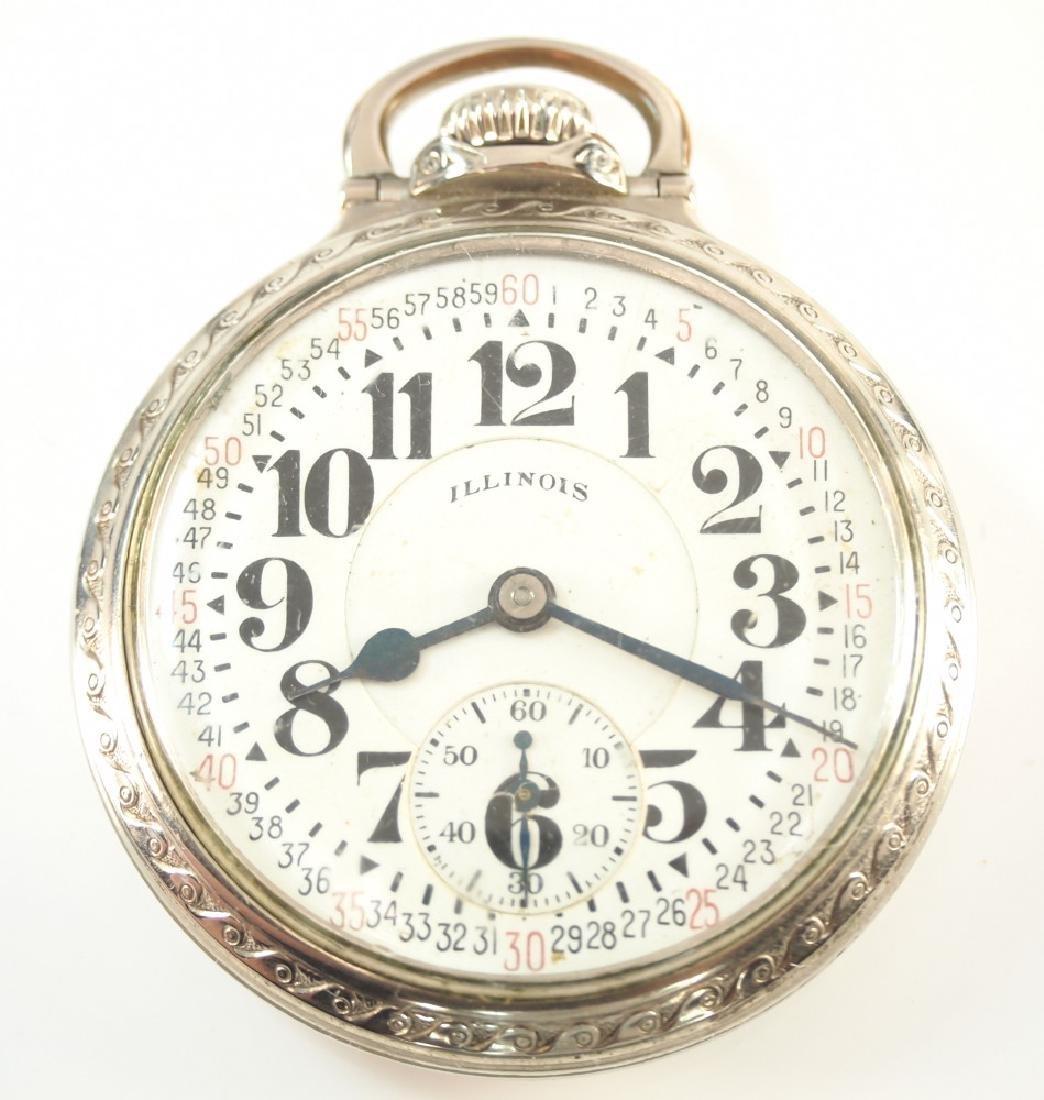 Illinois 60 hr Bunn Special Railroad watch
