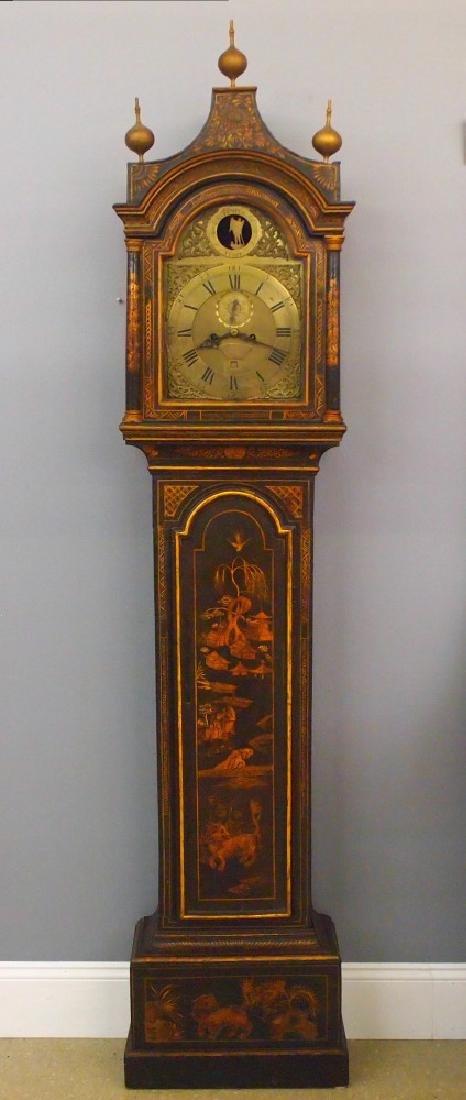 British tall clock