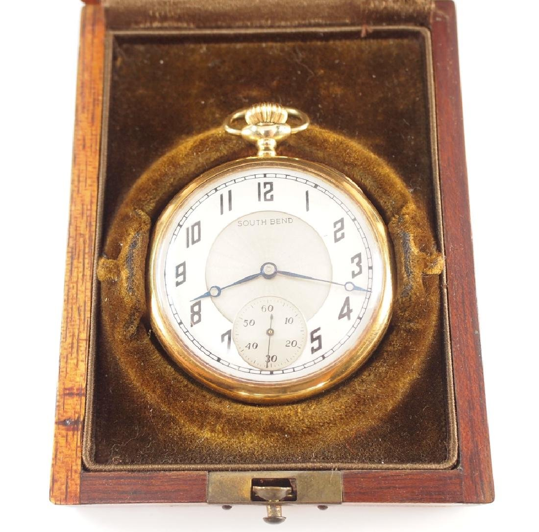 Southbend 407 14 k Gold pocket watch