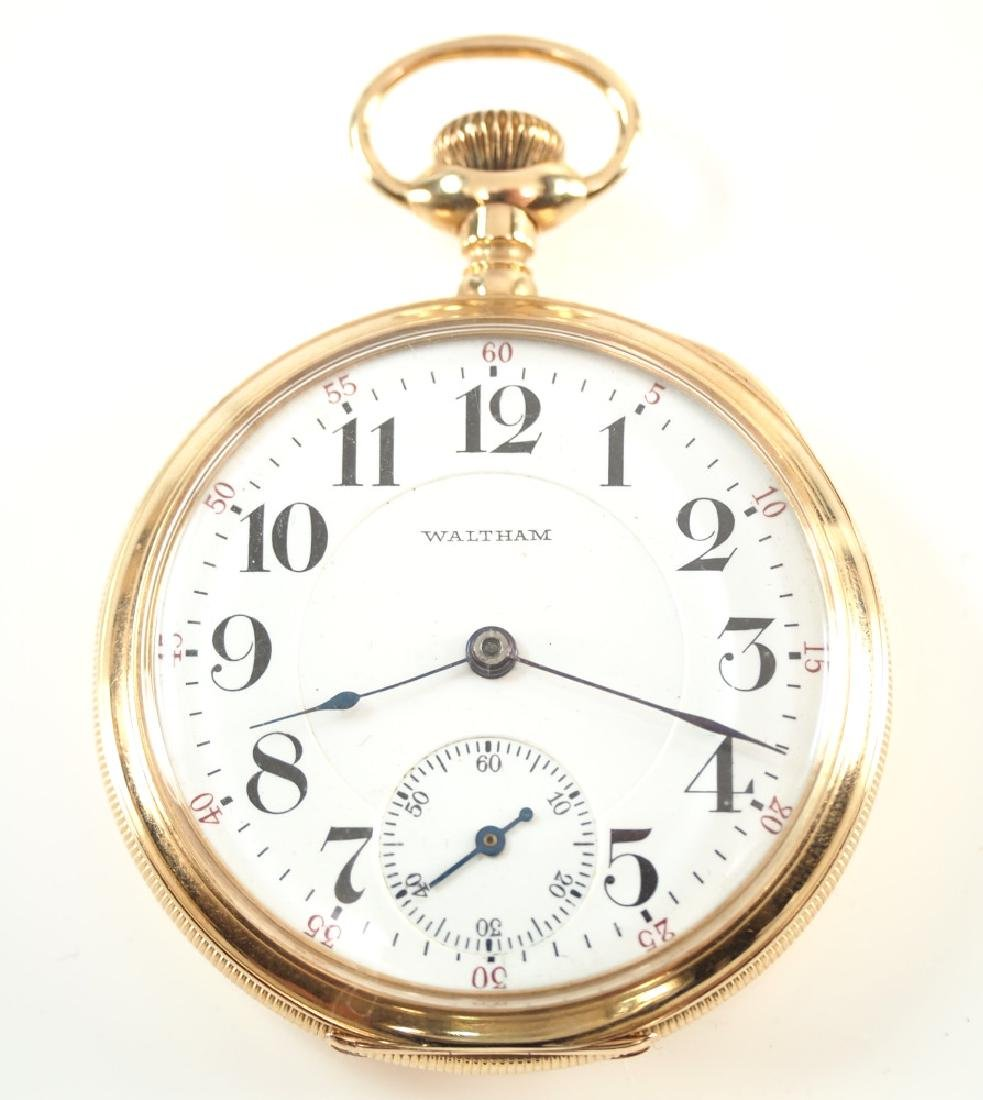 AWW Co. 14 k Vanguard pocket watch