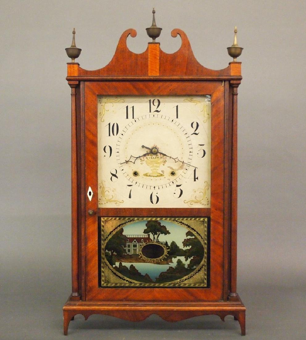 Seth Thomas Pillar & scroll clock