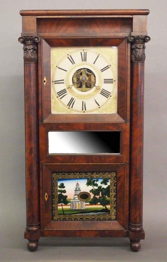 Eli Terry Empire shelf clock
