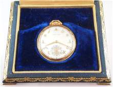 Hamilton 923 18 k Gold pocket watch