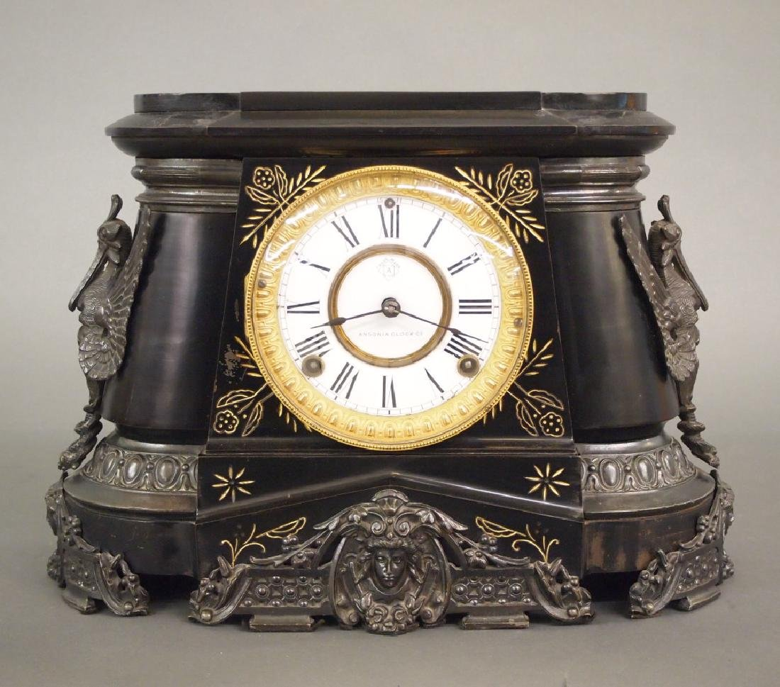 Ansonia Pompeii mantle clock