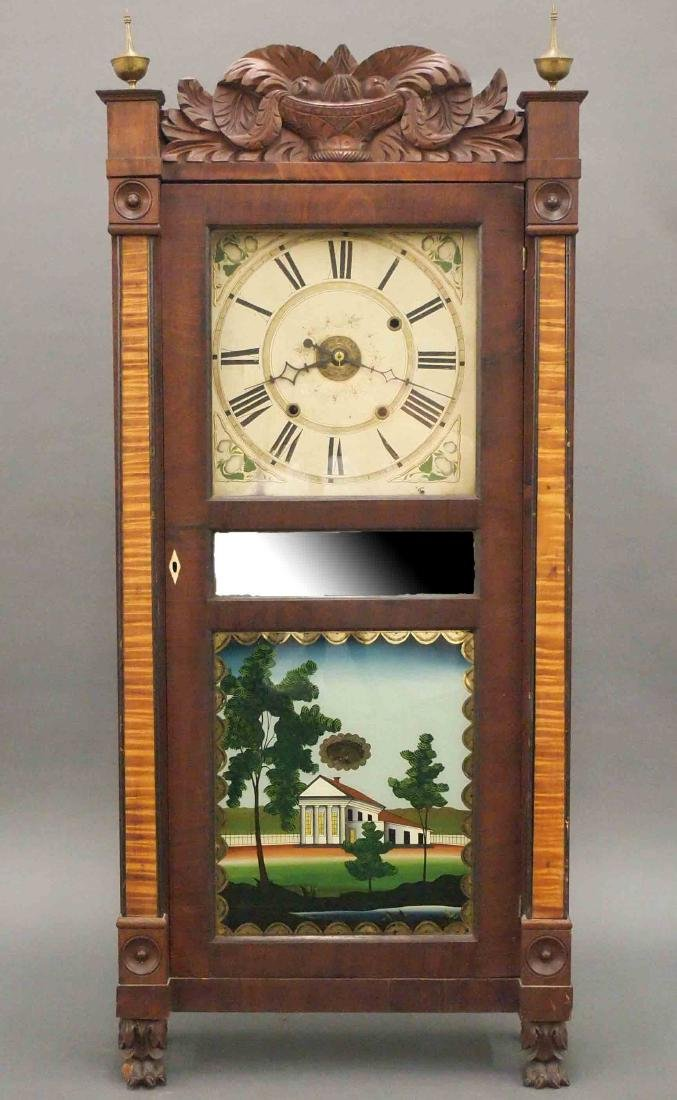Boardman & Wells shelf clock