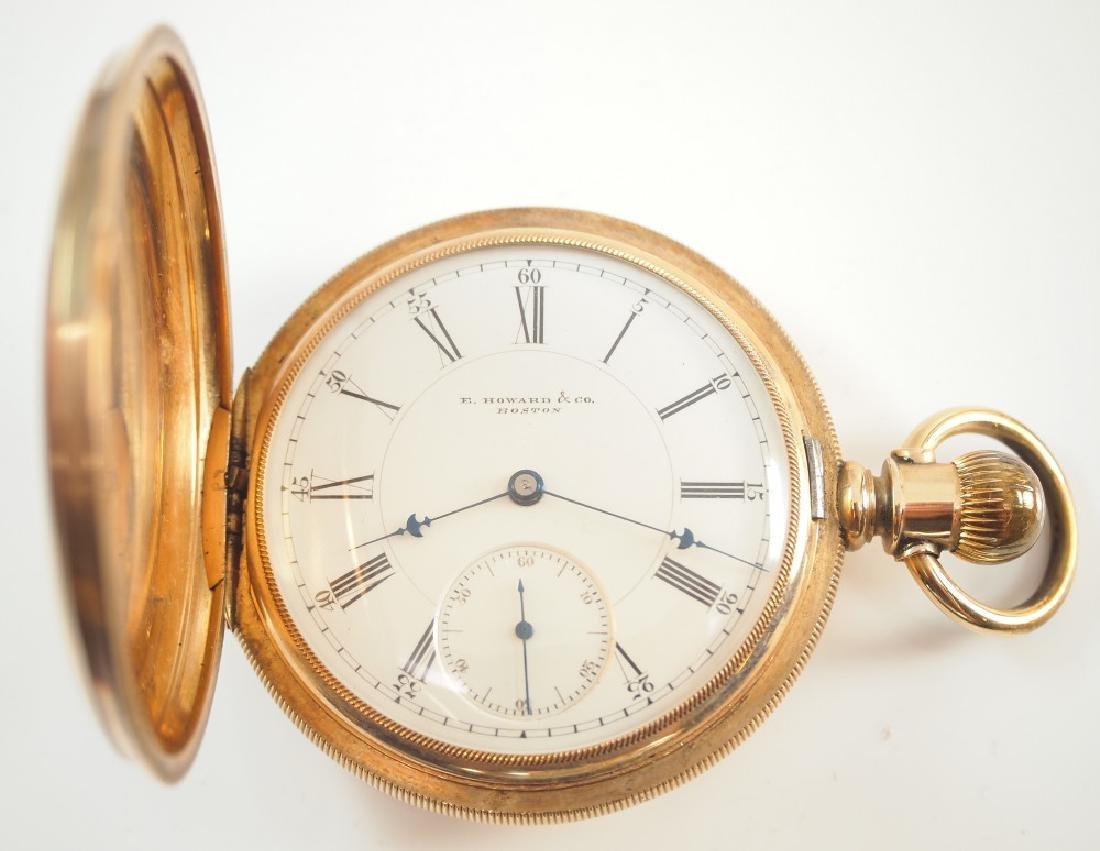 Howard 14 k pocket watch