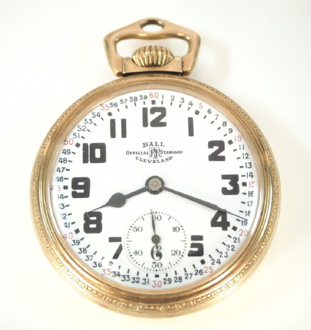 Ball 999B Railroad watch