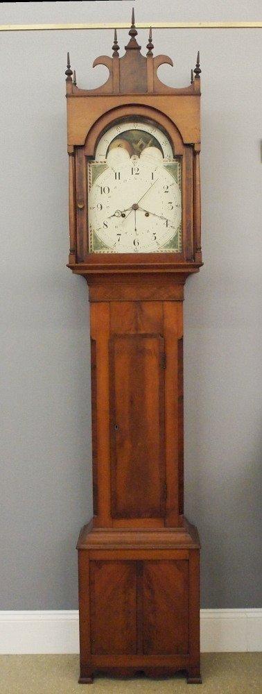 American Cherry tall clock
