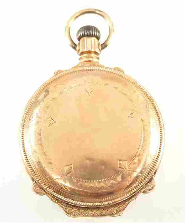Hamilton 14 k Gold pocket watch