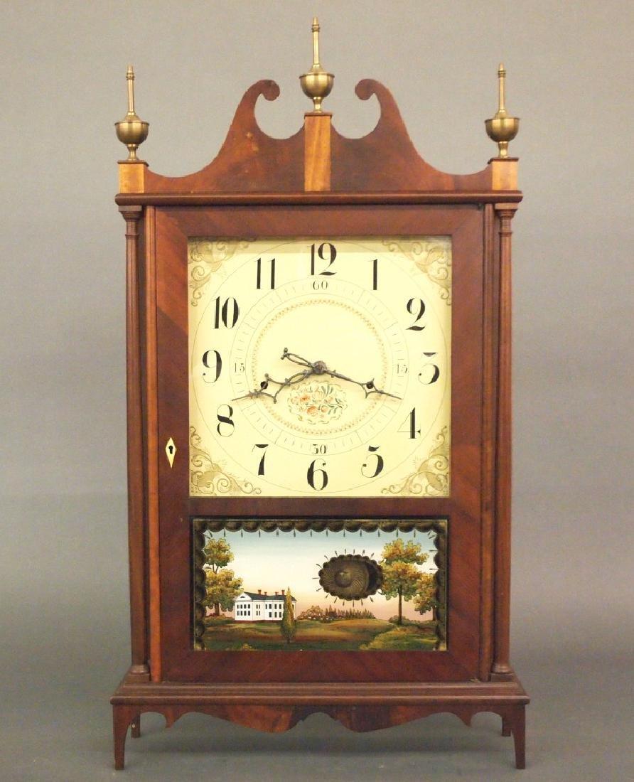 Seth Thomas pillar & scroll clock