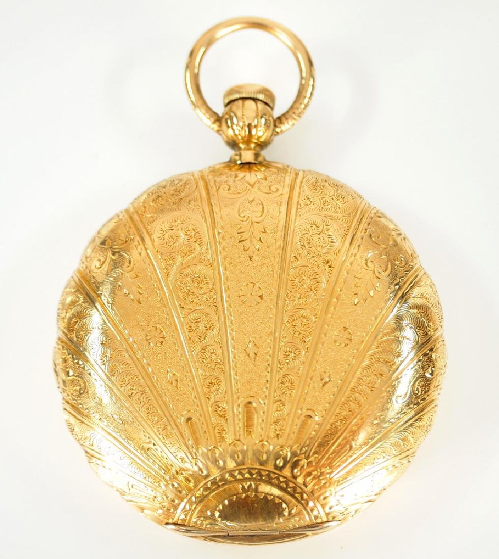 Howard 18 k pocket watch