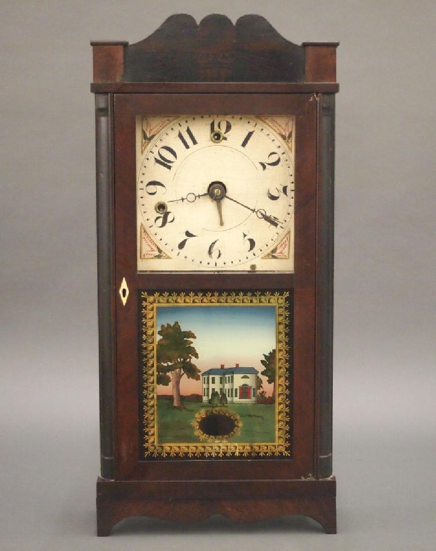 Silas Hoadley shelf clock