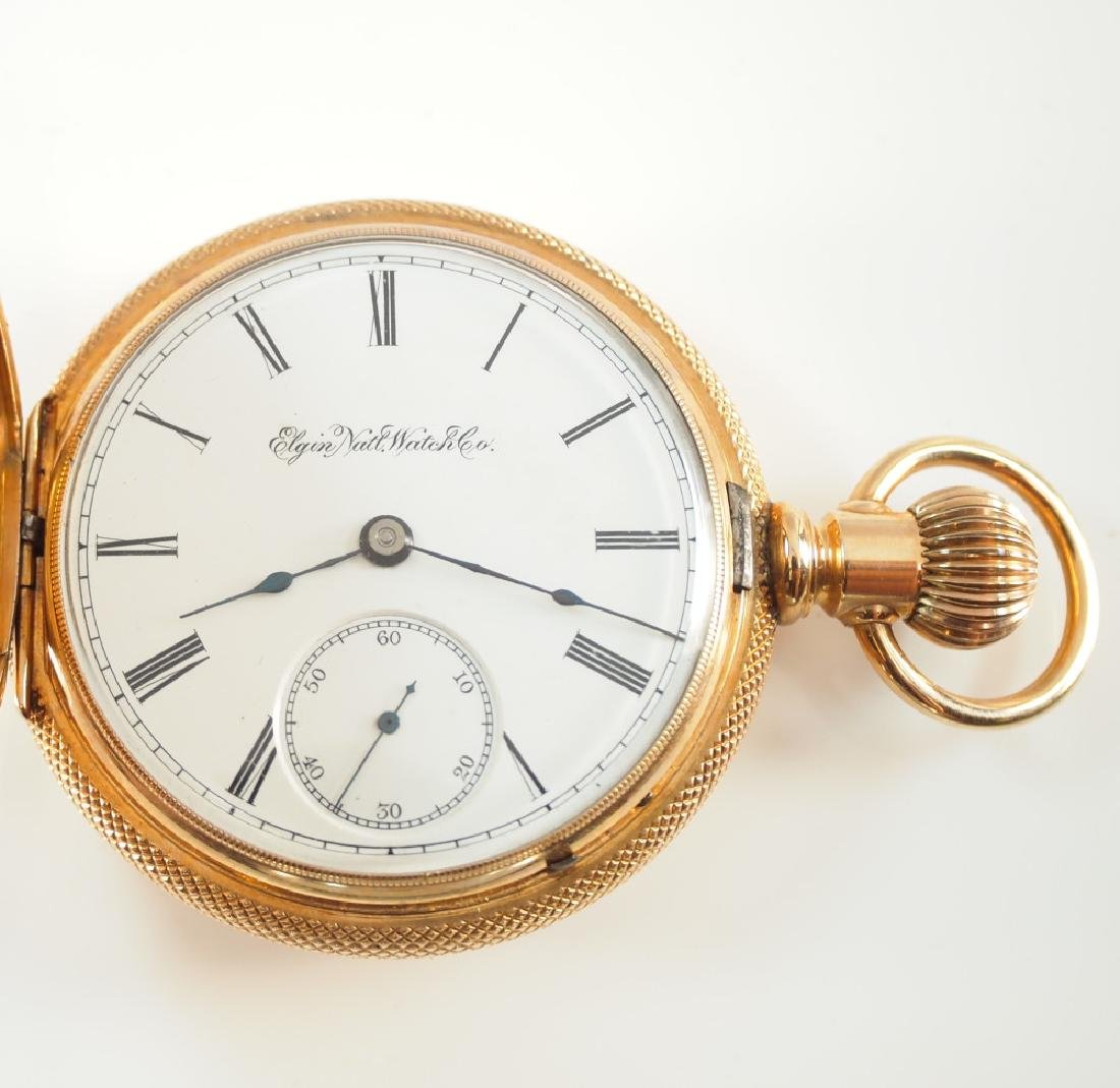 Elgin 14 k pocket watch