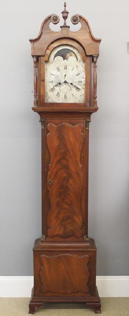 American Walnut tall clock